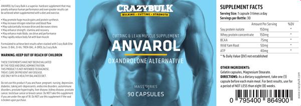 Anvarol ingredienser - Inköp Anvarol - Anavar anabola steroiden Alternativa i Hallands län