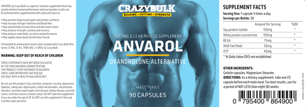 Anvarol ingrediënten - Waar Anvarol Kopen - Anavar Steroid Alternative in uw land ANVAROL (Anavar) Review: The Anabole Body Builder